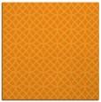 rug #456289 | square light-orange circles rug