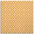 rug #456293 | square light-orange circles rug