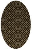 rug #456317 | oval geometry rug