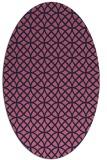 rug #456390 | oval circles rug