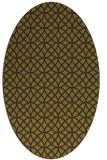rug #456526 | oval circles rug