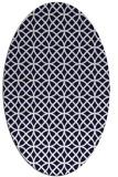 rug #456539 | oval geometry rug