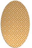 rug #456645 | oval white circles rug