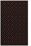 rug #456665    brown circles rug