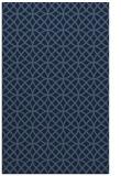 rug #456681 |  blue-green circles rug