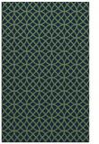 rug #456685 |  blue circles rug