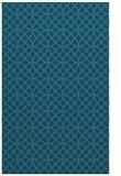 rug #456697 |  blue-green circles rug