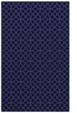 rug #456733    blue-violet circles rug
