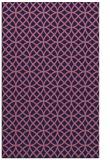 rug #456741 |  blue-violet circles rug