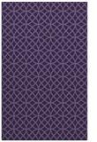 rug #456745    blue-violet circles rug