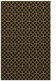rug #456765 |  mid-brown circles rug