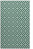 rug #456781    green circles rug