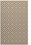 rug #456801 |  mid-brown circles rug