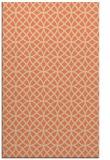 rug #456845 |  orange circles rug