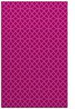 rug #456857 |  pink circles rug