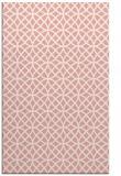 rug #456869 |  pink circles rug
