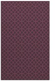 rug #456873    purple circles rug