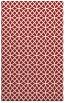 rug #456897 |  red circles rug