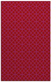 rug #456901 |  red circles rug