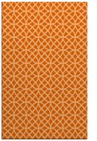 rug #456909 |  red-orange geometry rug