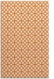 rug #456917    red-orange circles rug