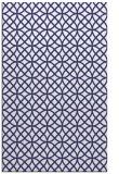rug #456929 |  blue circles rug
