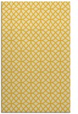 rug #456937 |  yellow circles rug