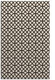 rug #456945 |  brown circles rug