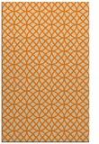 rug #456965 |  orange circles rug