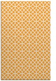 rug #456997 |  light-orange circles rug