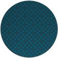 rug #457081 | round blue circles rug