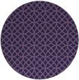 rug #457097 | round purple circles rug