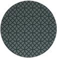 rug #457129 | round green circles rug