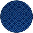 rug #457169 | round blue circles rug