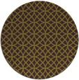 rug #457229 | round green rug