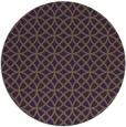 rug #457233 | round mid-brown popular rug