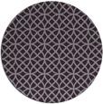 rug #457237   round purple circles rug