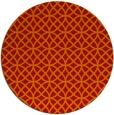rug #457245 | round red circles rug