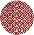 rug #457249   round red circles rug