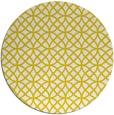 rug #457277   round white geometry rug