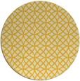 rug #457289 | round yellow circles rug
