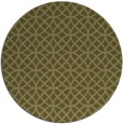 rug #457333 | round light-green circles rug