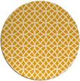 rug #457337 | round light-orange geometry rug