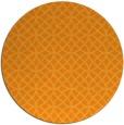 rug #457345   round light-orange circles rug