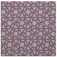 rug #461405 | square purple rug