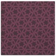 rug #461449 | square purple rug
