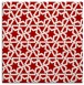 rug #461465 | square red rug