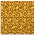 rug #461529   square light-orange geometry rug