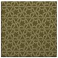 rug #461557   square light-green geometry rug