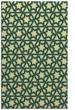 rug #462133 |  yellow geometry rug